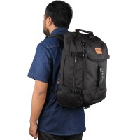 tas travel | tas backpacker eibag 602 hitam