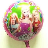 Jual Baru Balon Foil Barbie/ Balon Hbd Barbie 45Cm By Esslshop2 Promo Oke Murah
