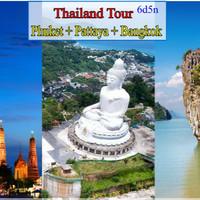 Paket wisata 3 kota thailand (phuket-bangkok-pattaya)
