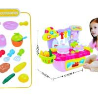 Jual Mainan Anak COOK FUN WITH SOUND 889 55 MAINAN ANAK KITCHEN SET Murah