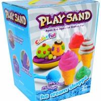 Jual Mainan Anak PLAYSAND ICE CREAM SHOPPE MAINAN EDUKATIF PASIR AJAIB KIN Murah