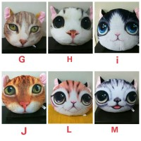 Bantal kucing isi 3pcs (silahkan pilih)