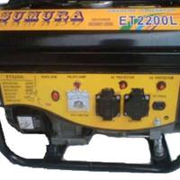 (GOJEK) Genset / Generator Set Sumura 2200 (1000W) Diskon