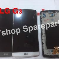 Lcd Touchscreen Frame LG Optimus G3 D850 D855 ORIGINAL COMPLETE