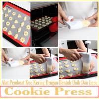 Jual Cookie Press Alat Pembuat Kue Kering Dengan Bentuk Unik Dan Lucu Murah