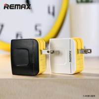 Remax USB Wall Travel Charger 2 Port 34A T0210