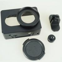 Jual Jual Aluminum Protective Case casing Cover Pelindung Xiaomi Yi CNC Har Murah