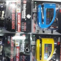 kunci disc alarm / gembok alarm motor / kunci disk