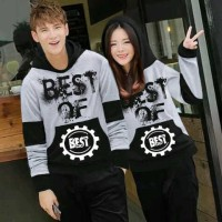 Jual Jumper Best Of Grey / Jumper Couple / Baju Couple / Couple Mur Murah