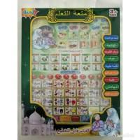 Jual Mainan Anak-Anak BRG-160015 mainan playpad MUSLIM 4 bahasa Harga Murah Murah