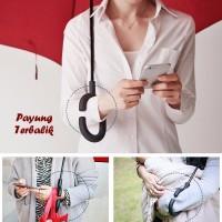 Jual DAPATKAN Payung Terbalik C Handle BIRU AWAN Kazbrella Solusi di saat Murah