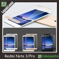 Jual X2 Tempered Glass Warna Colour Xiaomi Redmi Note 3 / Pr Berkualitas Murah