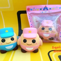 Cute Potato Head Police Squishy Polisi Kepala Kentang Lucu Murah