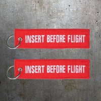 INSERT BEFORE FLIGHT - Keychain