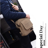 Jual Korea Outdoor Travel Shoulder Bag Tas Selempang gadget import Murah