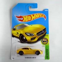 Jual Hot Wheels Mercedes AMG GT '15 Kuning Murah