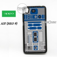 Casing OPPO A37 Star Wars R2D2 Lego Hard Case Custom