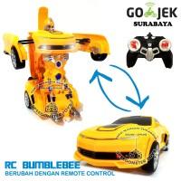 RC Transformers Bumblebee Frek 2.4G | Mainan Anak Robot Remote Control