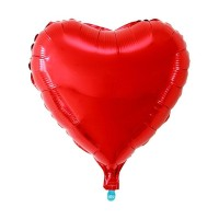 Balon Love Heart Hati Foil 80cm