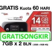Jual Modem Mifi Huawei 4G LTE E5577 Unlock Garansi resmi FREE TELKOMSEL Murah