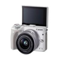 Canon EOS M3 Kit EF-M15-45MM Kamera Mirrorles White