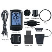 Cyclo Computer Speedometer sepeda with cadence wireless like cateye
