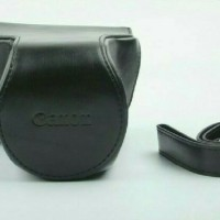 Leather case / camera bag for canon EOS M3