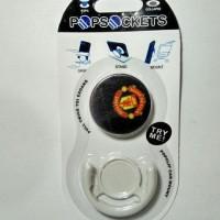 Jual Super Murah.. Bola MU Pop Socket  PopSockets Grip Phone Ho Berkualitas Murah