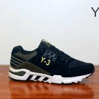 sepatu casual running sport pria adidas Y-3 hitam