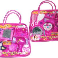 Jual Terlaris Mainan Anak Make Up Beauty Set Tas Sedang/ Mainan Beauty Gift Murah