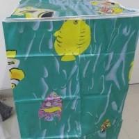 Jual EXCLUSIVE Cover Mesin Cuci GREEN bahan satin tebal anti air anti pana Murah