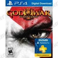 PSN Plus 3 Bulan Free Game God of War III remastered