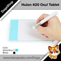 Huion 420 graphic drawing Osu! tablet