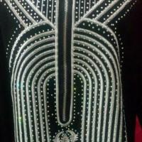 abaya gamis arab terbaru / dress swaroski swarovski bor Berkualitas