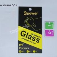 Jual 3 Power Tempered Glass - Oppo Mirror 5/5S Murah