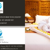 Gift Voucher di Hotel Bintang 4 Ubud Wana Resort Bali Honeymoon Murah