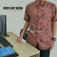 Jual SUPER Batik Pria Hem Cap Sisik AIF612 Murah