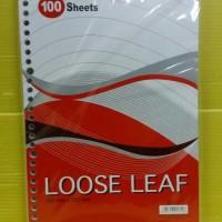 Jual Kiky Loose Leaf B5 (Pak Isi 100 Lembar) Murah Murah