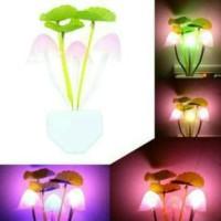 Jual Lampu Tidur LED Sensor Cahaya Lampu Jamur (Lampu Avatar) Diskon Murah