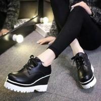 Jual Sepatu Wanita Boots Wedges SBO319 Murah