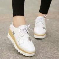 Jual Sepatu Boots Wedges Wanita Bintang SBO321 Murah