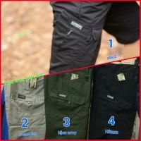 Jual Celana Tactical pendek original / celana pdl cargo gunu Diskon Murah