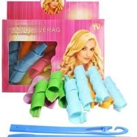 PROMO MAGIC LEVERAG - hair curler rambut ikal temporary TERMURAH