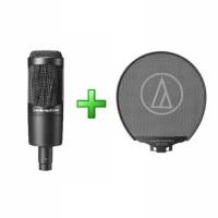 Microphone Mikrofon & Pop Filter Audio Technica AT2035-PF2 PREMIUM