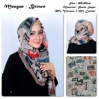 Jual Meagan | Alfabet | Bahan Paris Super | Pashmina / Hijab / Kerudung  Murah