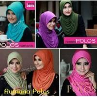 Jual Hijab Instant Rumana Polos   Murah