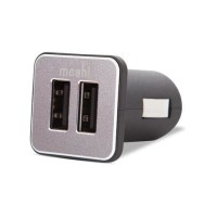 Moshi Car Charger Duo Includes USB Cable with Lightning Connector