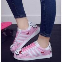 Jual :: SEPATU WANITA Sepatu Wanita Kets Casual Hello Kitty SDS176 Murah