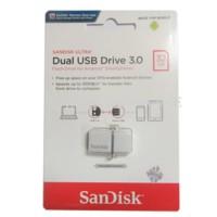 Sandisk OTG USB 3 Flashdisk 32GB 130MB/S Dual Drive USB 3.0 32 GB OTG