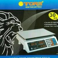 Jual PROMO Sale Timbangan Digital Tora 30kg bagus Murah